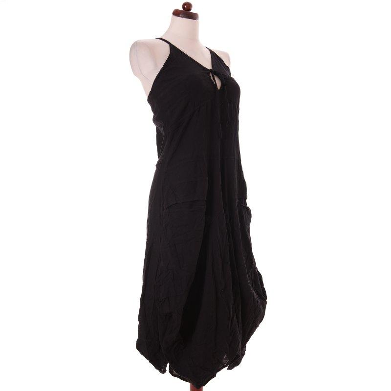 lagenlook kleid tr ger schwarz 38 vishes alternative bekleidung. Black Bedroom Furniture Sets. Home Design Ideas