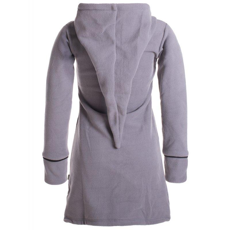 warmer wintermantel aus eco fleece mit zipfelkapuze vishes alterna. Black Bedroom Furniture Sets. Home Design Ideas