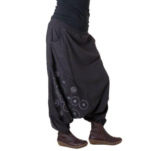 Vishes Fleece Hose Thermohose warm Lange Größe