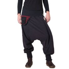 Vishes Fleece Haremshose warme Hose Winterhose Goa...