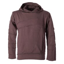 Vishes Sweater Hoodie Hoody Patchwork Pullover...