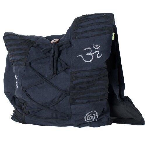 Vishes Tragetasche Umhängetasche Damentasche Beuteltasche schwarz
