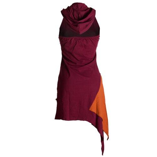 Vishes Mini Kleid Goa Neckholder Kleid Zipfelkleid