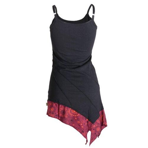 Vishes asymmetrisches Sommerkleid aus leichtem Jerseystoff
