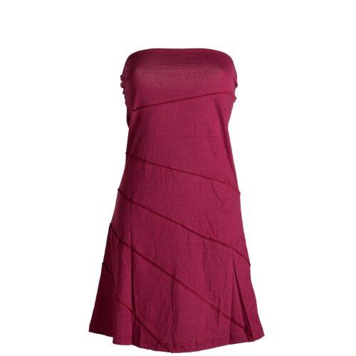 Vishes Mini Sommerkleid im Patchworkdesign aus leichtem Baumwolljersey