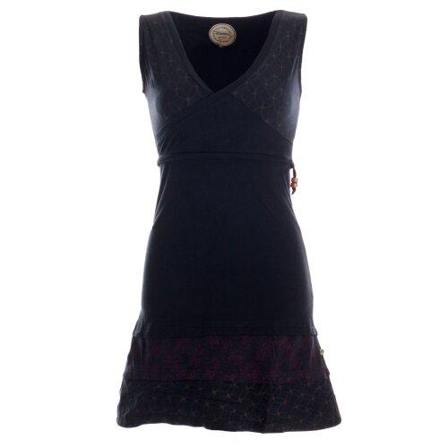 Vishes Kurzes ärmelloses mini Sommerkleid bedruckt - Tunika