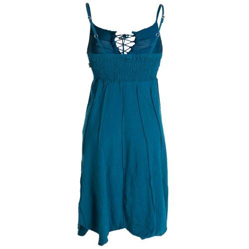 Vishes Leichtes Sommerkleid mit verstellbaren Trägern
