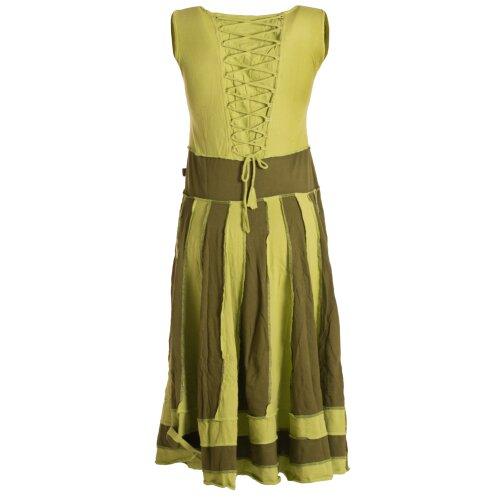 Vishes Langes Sommerkleid aus Baumwolle ohne Ärmel