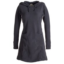 Vishes Langarm Winterkleid aus recyceltem Eco Fleece mit...