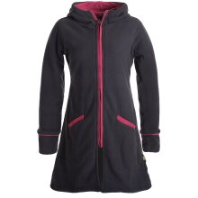 Vishes Warmer Wintermantel aus Eco Fleece mit...