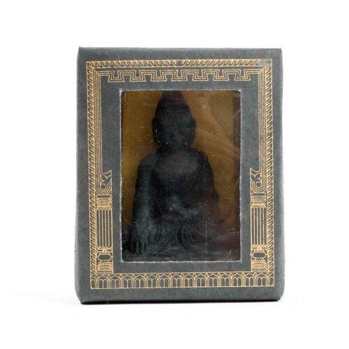 Meditierender Buddha Praying Buddha tibetische Räucherstäbchen Räucherstäbchenhalter Statue Incense