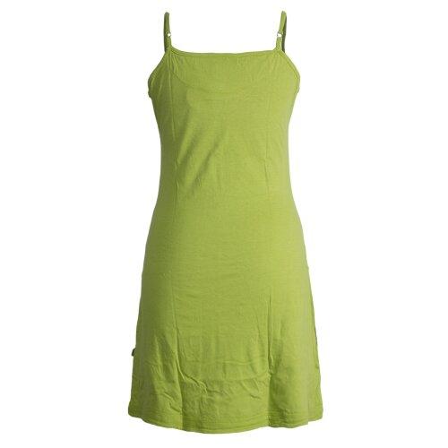 Vishes Besticktes Rosen Baumwoll-Kleid mit verstellbaren Trägern