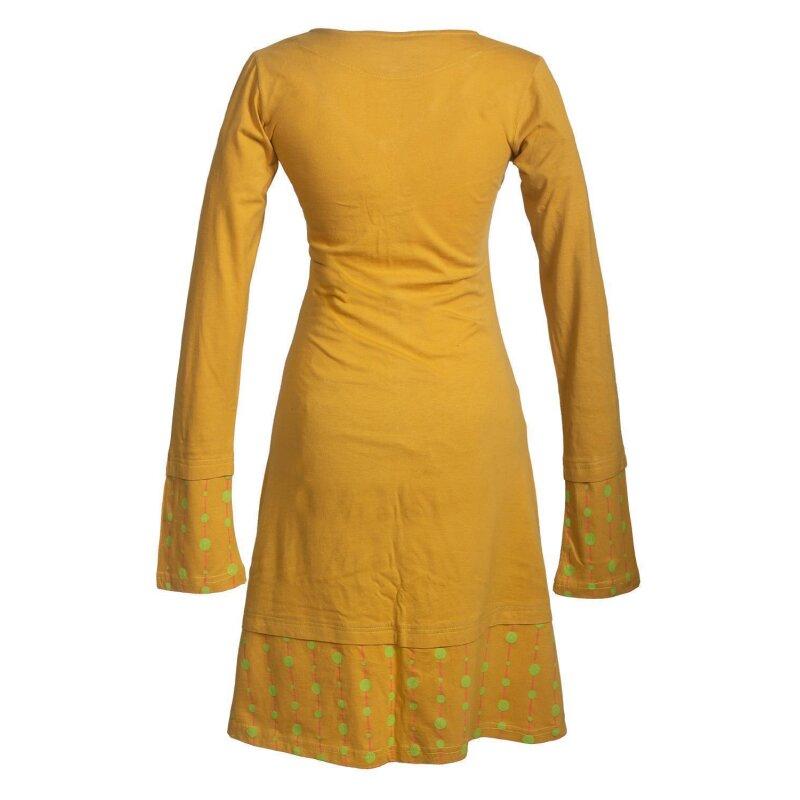 Vishes Langarm Damen Freizeit Jerseykleid Strickkleid ...