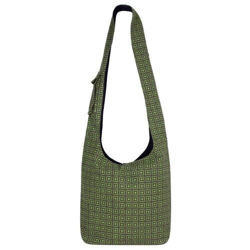 Vishes Unisex Umhängetasche Schultertasche - Tasche zum Umhängen für die Schulter Mosaik Motiv