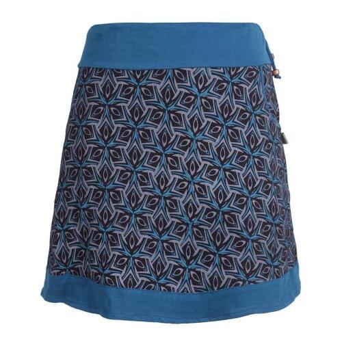 Vishes - Kurzer Damen Sommerrock zum Überziehen