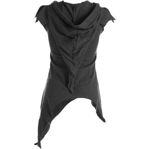 Vishes Zipfelshirt Lagenlook Zipfelkapuze Hoodie