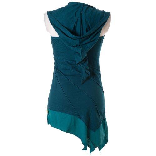 Vishes Mini Kleid Goa Neckholder Kleid zweifarbig ...