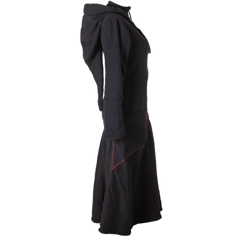 Alternative Bekleidung Warmer Elfen Kurzmantel mit Zipfelkapuze olivegr/ün 42 Vishes