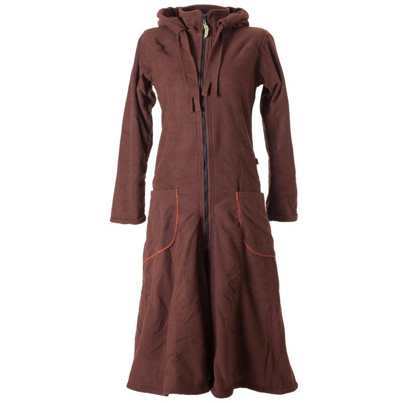 vishes warmer wintermantel fleece mantel larp braun 38 vishes alt. Black Bedroom Furniture Sets. Home Design Ideas