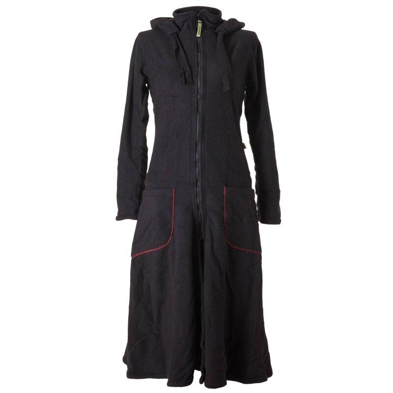 vishes warmer wintermantel fleece mantel larp schwarz 44 vishes a. Black Bedroom Furniture Sets. Home Design Ideas